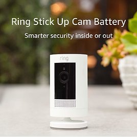 Ring Stick Up Cam Battery HD Security Camera with Custom Privacy Controls, Simple Setup for $159.98