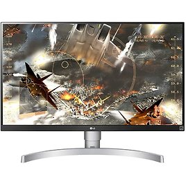 LG 27UL650-W 27 Inch 4K UHD LED Monitor with VESA DisplayHDR 400, White for $326.99