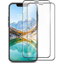 Amazon Basics Full-Coverage Tempered Glass Screen Protector for IPhone XR and IPhone 11 for $14.44