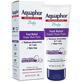 Aquaphor Baby Diaper Rash Paste - Fast Relief For Troublesome Diaper Rash and Flare for $6.34