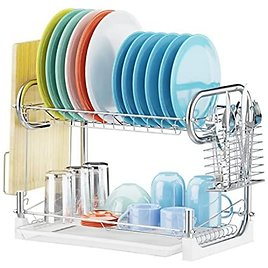 Veckle Dish Drying Rack from Amazon Deals.