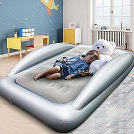 Inflatable Kids Travel Bed from Amazon.