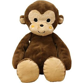 Lambs & Ivy Bedtime Originals Curly Tails Plush Monkey