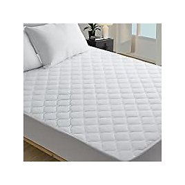 HYLEORY Twin XL Bedding Quilted Fitted Mattress Pad Cover » Only $13.19