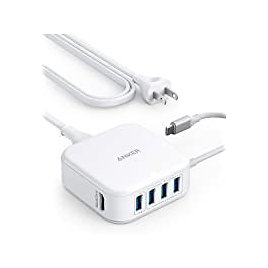 Anker PowerPort 5-in-1 37.5W USB-C & HDMI Hub and Charger from Amazon.com