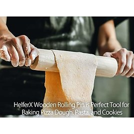 Wooden Rolling Pin for Baking from Amazon.
