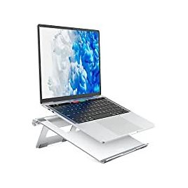 Nulaxy Adjustable Laptop Stand for $9.99