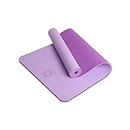 Wwww TPE Non Slip Yoga Mat with Carrying Strap (Violet) from Amazon.com