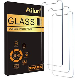 Ailun Glass Screen Protector Compatible for IPhone 12 Pro Max for $5.07