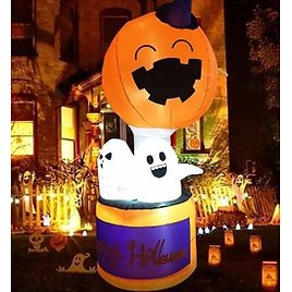 Outdoor Halloween Decor - 6FT Inflatable from Amazon.