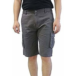 Men's Cargo Shorts Cotton Relaxed from Amazon.