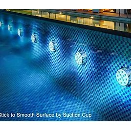 Submersible LED Lights with Remote RF(164ft) from Amazon.
