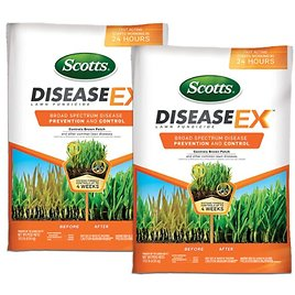 2-Pack Scotts DiseaseEx Lawn Fungicide, 5,000 Sq. Ft.