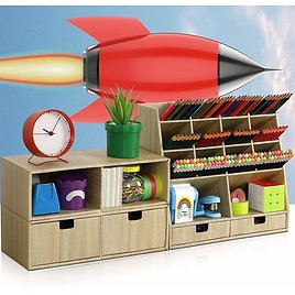 Desk Organizer and Accessories from Amazon