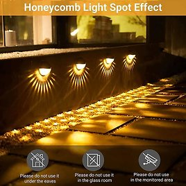 Outdoor IP65 Decorative Deck Lights from Amazon