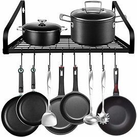 Hanging Pot Rack from Amazon