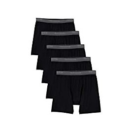 5-Pack Fruit of The Loom Men's Lightweight Micro-Stretch Boxer Briefs for $12.00