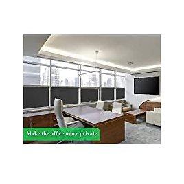"""Coavas 17.5""""x 78.7"""" Non-Adhesive Self Static Clings Frosted Privacy Film for $3.53"""