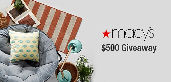 $500 Macy's Back to School Gift Card Giveaway!