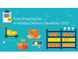 Free Shipping Day & Holiday Delivery Deadlines 2015