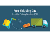 Retailers' Holiday Shipping Deadlines Announced + Free Shipping Day