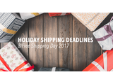 Holiday Shipping Deadlines & Free Shipping Day 2017