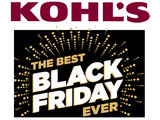Kohl's Black Friday Sale Now Live