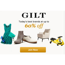 GILT - Designer Brands for the Whole Family