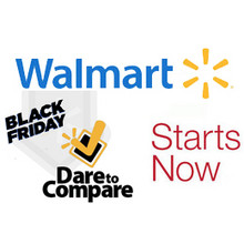 Walmart Black Friday Dare to Compare>