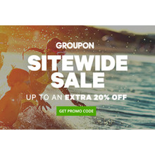 Groupon - Up to an Extra 20% Off