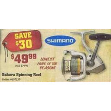 Shimano Sahara Spinning Wheel