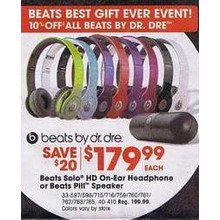 Beats Solo HD Headphones