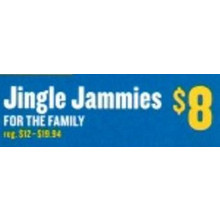 Jingle Jammies for the Family (Saturday)