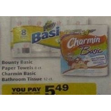 Charmin Basic Bathroom Tissue 12-ct.