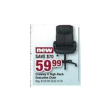 Crawley II High-Back Executive Chair
