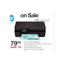 HP Photosmart 5520 e-All-In-One Inkjet Printer, Copier, & Scanner