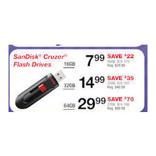 SanDisk Cruzer 16GB Flash Drive
