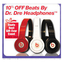 Beats By Dr.Dre Headphones - 10% off