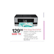 Brother MFC-J4510DW Wireless Inkjet All-in-One Printer