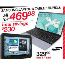 Samsung Laptop & Tablet Bundle