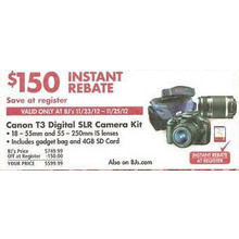 Canon T3 Digital SLR Camera Kit