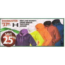 Under Armour Mens Tech Fleece Hoodies