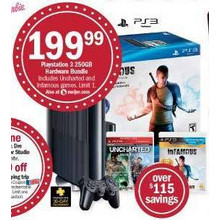 Playstation 3 250GB Hardware Bundle