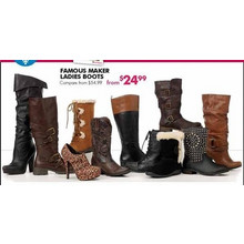 Famous Maker Ladies Boots