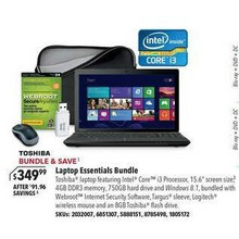 Toshiba Laptop Essentials Bundle