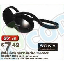 Sony Neckband On-Ear Headphones, Street Style