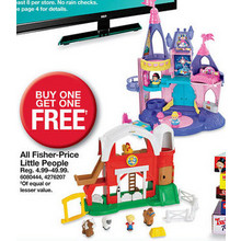 BOGO Free Fisher-Price Octonauts Toys
