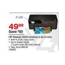 HP Deskjet e-All-in-One Printer (3520)