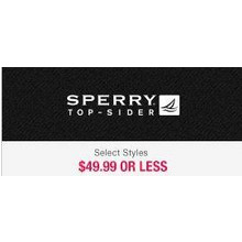 Sperry Top-Sider  - $49.99 or Less