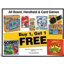 Board Games (Assorted) BOGO Free